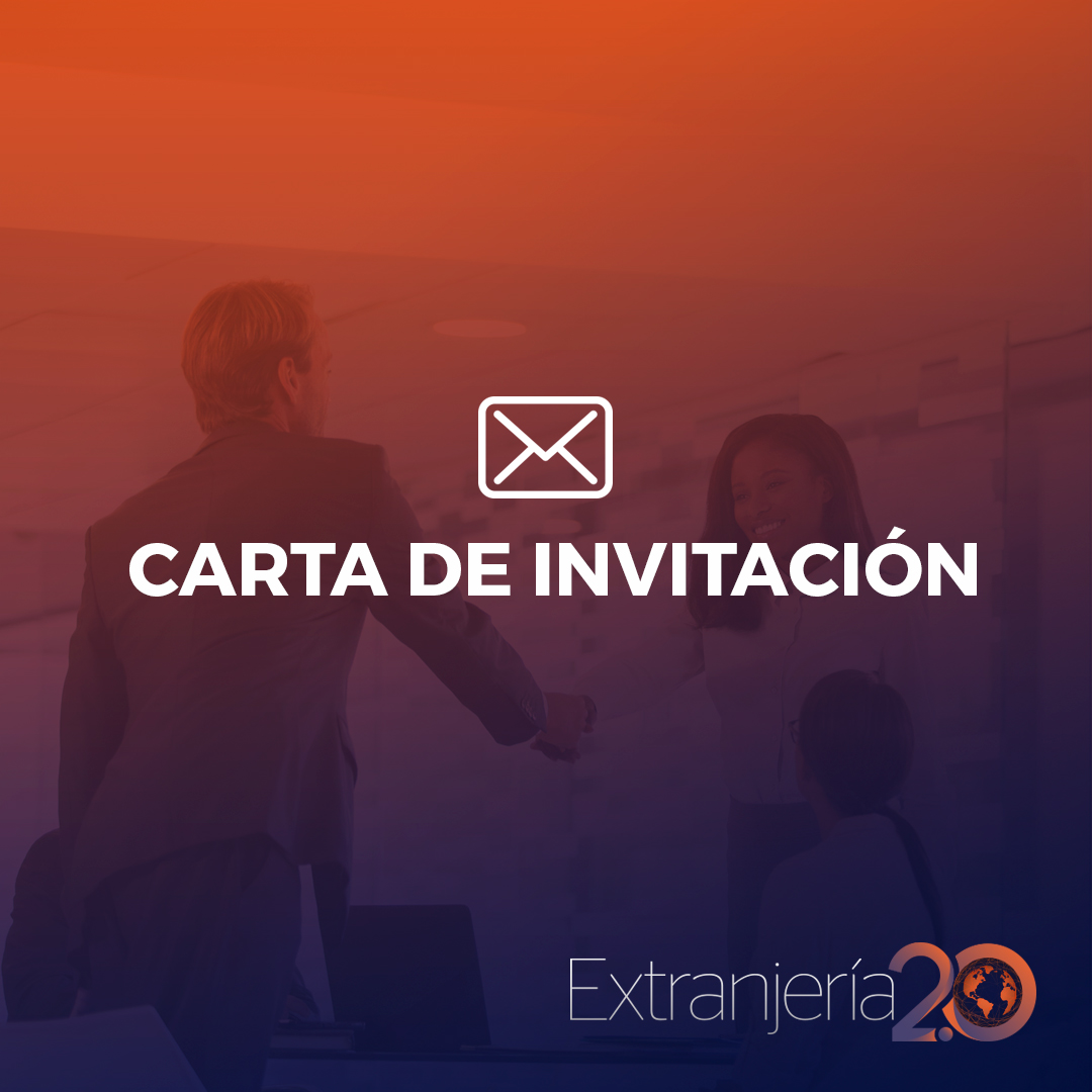 Carta De Invitación Requisitos Tramitación Y Resolución